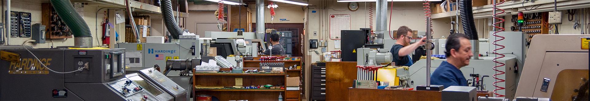 rothlisberger manufacturing shop floor